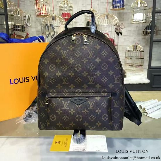 f625d4356689 Louis Vuitton M41561 Palm Springs Backpack MM Monogram Canvas ...