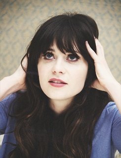 Zooey Deschanel...obsessed with her. i'll admit it.