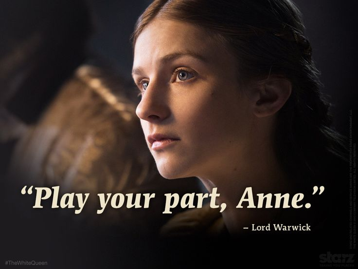 Anne Neville in episode 4 of #TheWhiteQueen