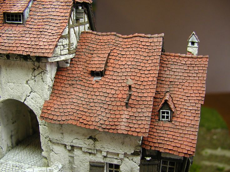 Roof Of A Building In Decay Http Www Modellbauluft De