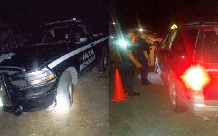 Agentes policiales se encontraban en una caseta de vigilancia cuando el tripulante de una camioneta marca GMC, línea Yukón, color gris, realizó detonaciones de arma de fuego contra el personal; ...