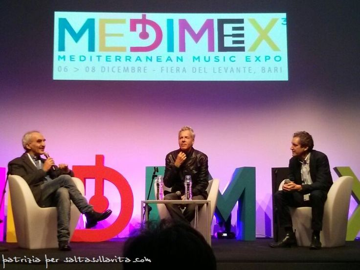 Intervista di Claudio Baglioni a Medimex