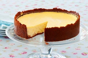 Frozen lemon cheesecake