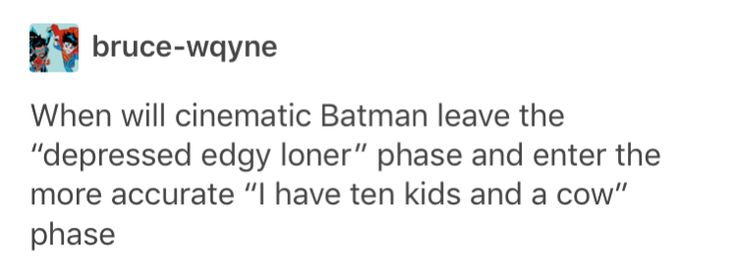 Yes please give me back the real batman