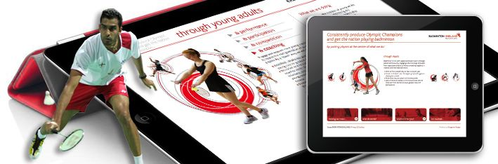 Our latest brief was to create an Online Strategy Portal.   Under the strategic ambition of 'To consistently produce Olympic Champions and get the nation playing badminton... by putting players at the centre of what we do!', the portal focusses on Badminton England's commitment to Young People, Young Adults, Adults, Para-Badminton, Team England, and the Fans themselves.   You can view the portal at www.badmintonengland.co.uk/strategy   Strategic? Then let's talk.
