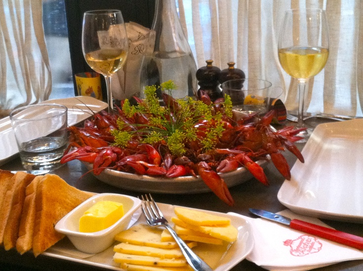 Crayfish@Riche, August. #PinStockholm