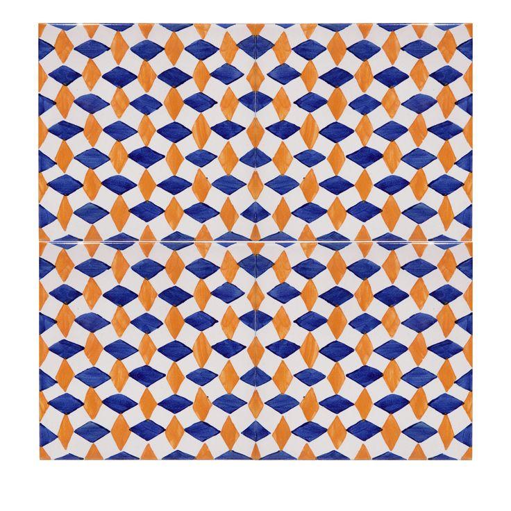 4 diamante tiles building and garden elements home dcor and interior design ideas from italys finest artisans artemest - Matchstick Tile Garden Decoration