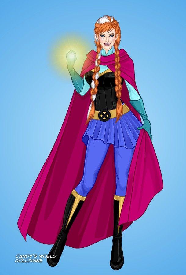 Принцессы диснея супергерои картинки