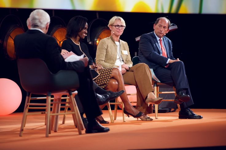 Form chairs on stage at EAT Stockholm Food Forum 2015