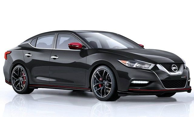 2017 Nissan Maxima Nismo - front