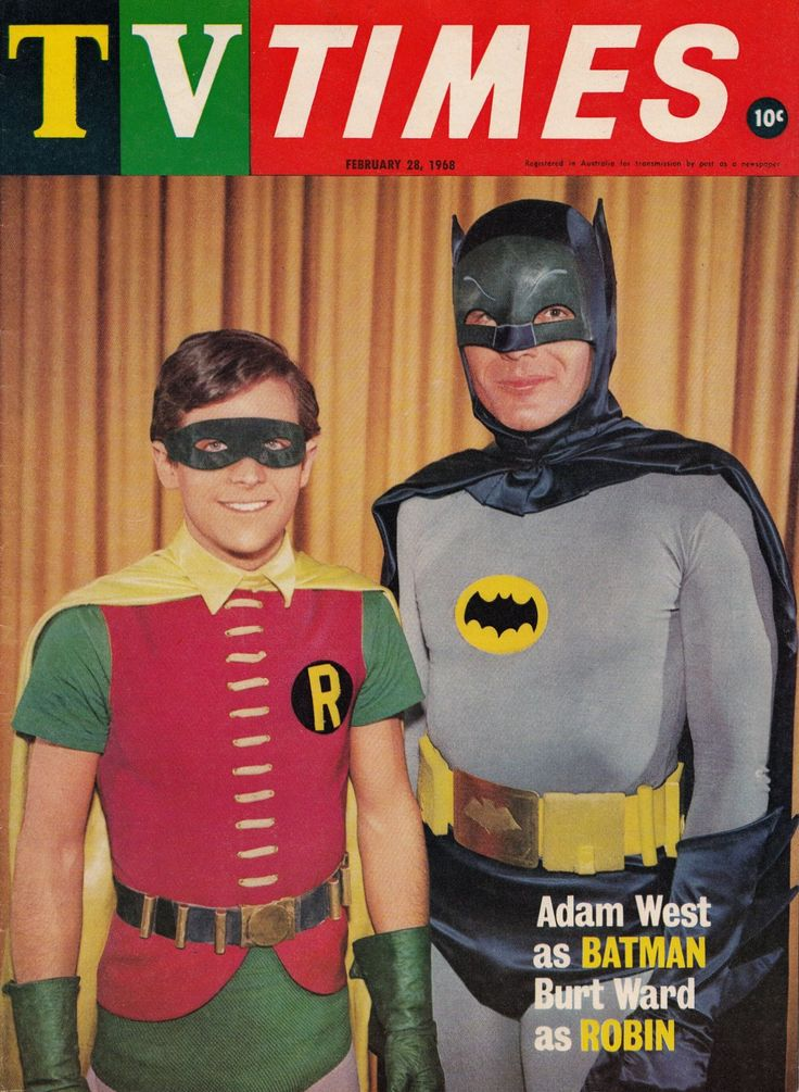 """When my son was little, and the rest of his friends were watching Batman Beyond, my son was ABSOLUTELY HOOKED on, what he called, """"The Adam West Batman"""".   He and his friends would play """"The Adam West Batman"""" all the time.  Love that kid."""