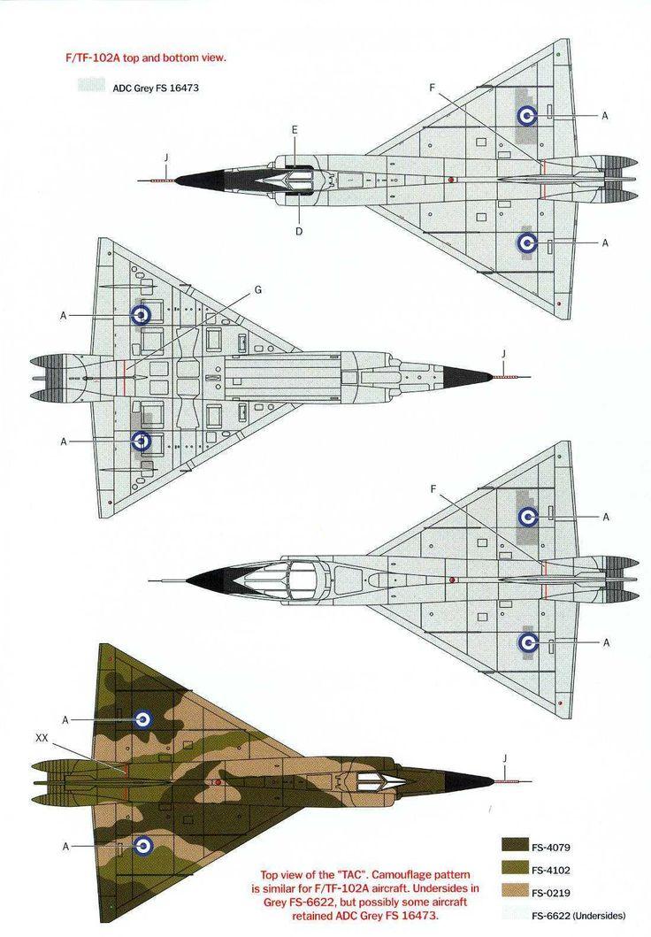 F 102 A DELTA DAGGER HAF