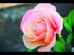 DIY Instruction: How To Make a Rose from Nylon Stocking - DIY Wedding Flower Idea