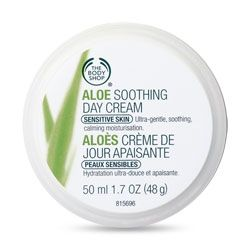 Aloe Soothing Day Cream - Paraben & Sodium Benzoate Free $17.00, can be used on face, etc