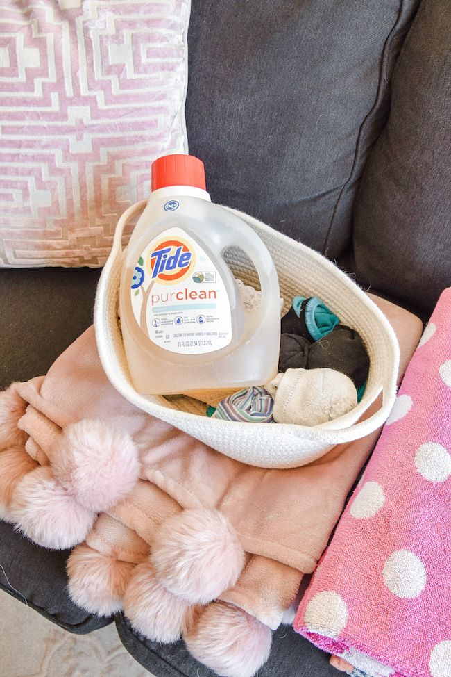 Fresh Laundry With Tide Purclean The Best Plant Based Detergent