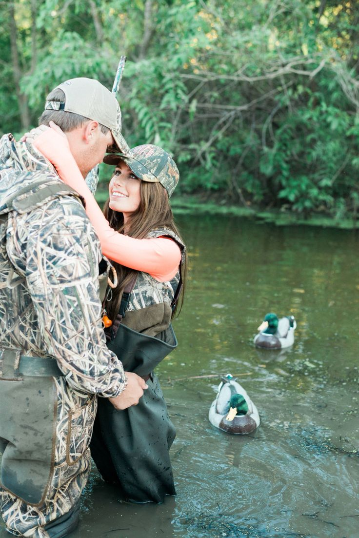 duck hunting engagement session #christaelyce #duckhunting #mallards #engaged