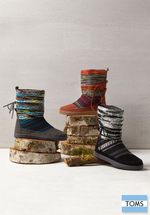 TOMS traveled to the highlands of Nepal and came back with the perfect inspiration for a winter boot.