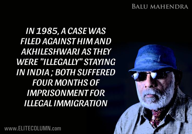 10 Curious Facts About Finest Cinematographer Balu Mahendra