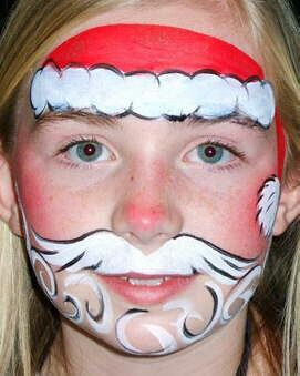 216 Best Holiday Face Paint Designs Images On Pinterest