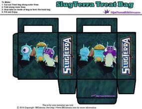 Treat bag something smells ~ Free Slugterra Party Printables, and Crafts   SKGaleana