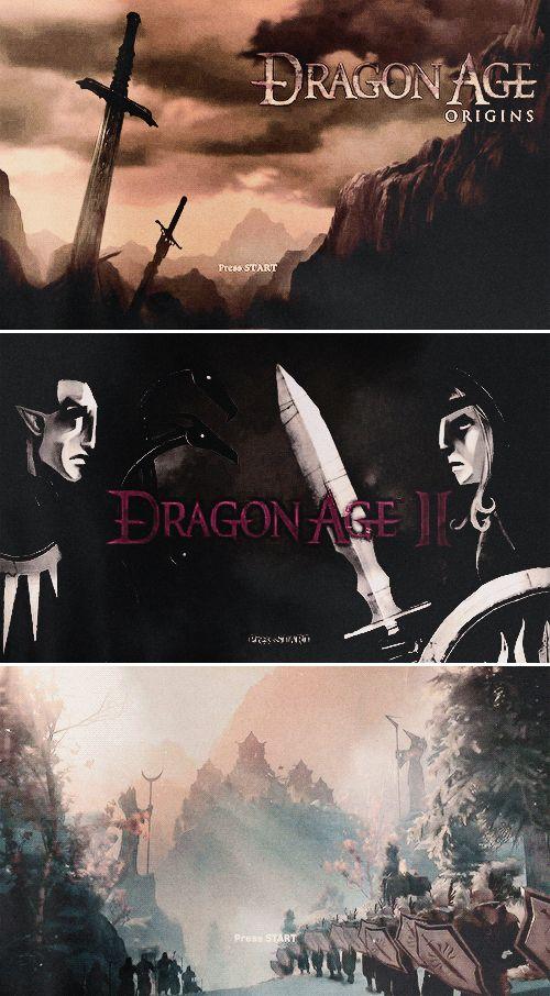 Press START! Dragon Age: Origins, Dragon Age 2, Dragon Age: Inquisition