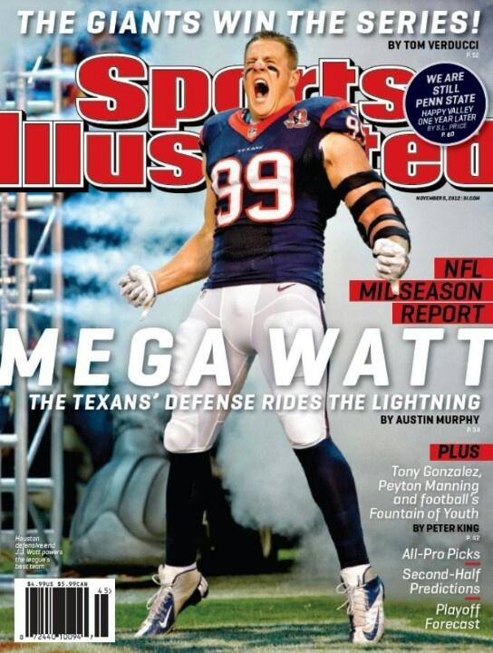 Houston loves us  some JJ Watt!