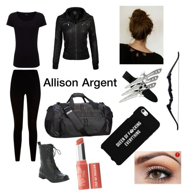 """""""#teenwolf Allison Argent hunting outfit"""" by melanie0601 ❤ liked on Polyvore featuring Givenchy, Puma, Joseph, LG, Bare Escentuals, women's clothing, women's fashion, women, female and woman"""
