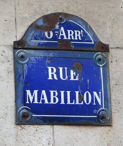 La rue Mabillon  (Paris 6ème)