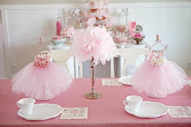 "Vintage Ballerina / Birthday ""Ballerina Party... Tutu cute!"" | Catch My Party"