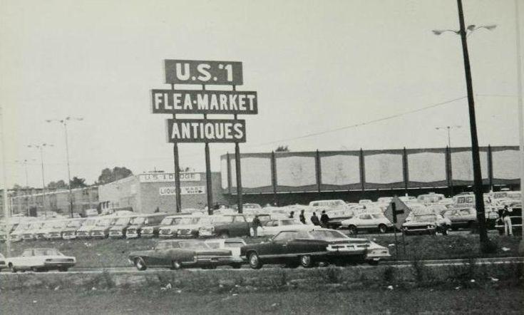 U.S. 1 Flea-Market - New Brunswick, NJ This site is now an AMC Movie Theater.