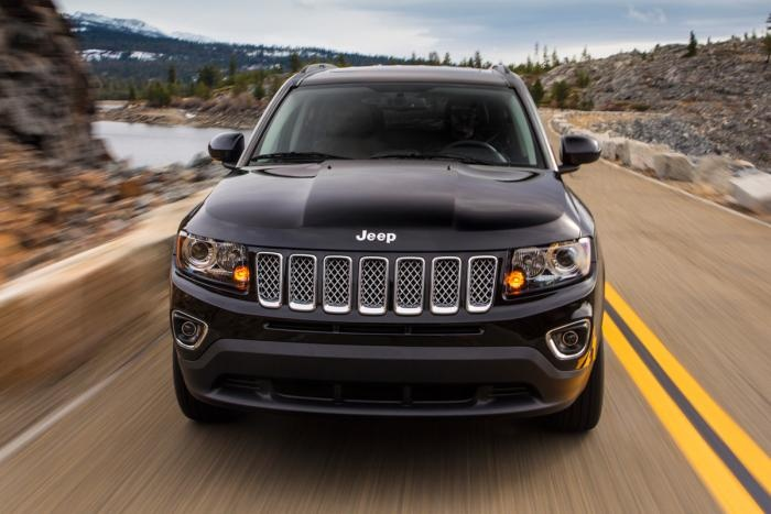 Jeep Compass front tracking