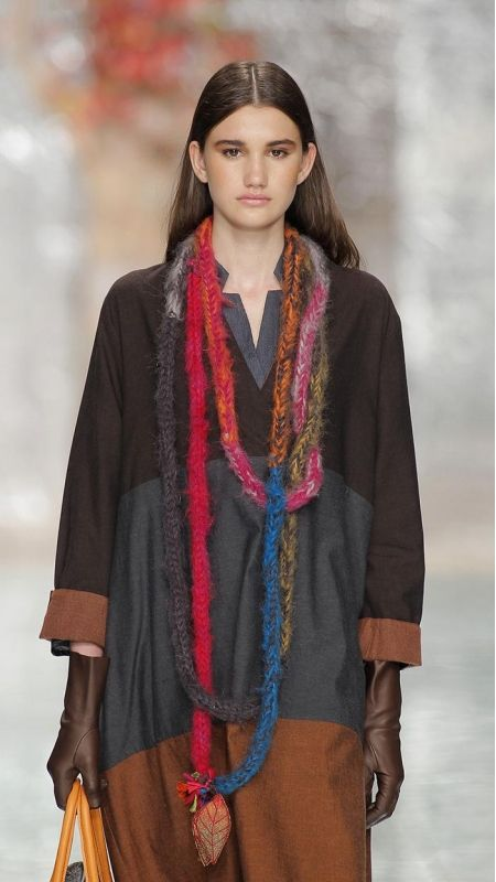 Accessories : Necklace Snow Rainbow TMcollection Fall-Winter 2015 [Entre Serras] - Handmade