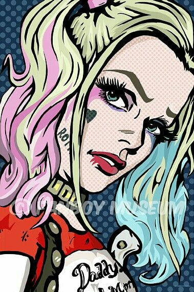 CAN WE PLEASE CHANGE THE PIN FORMAT BACK TO THE WAY IT WAS??? Pop art Harley Quinn