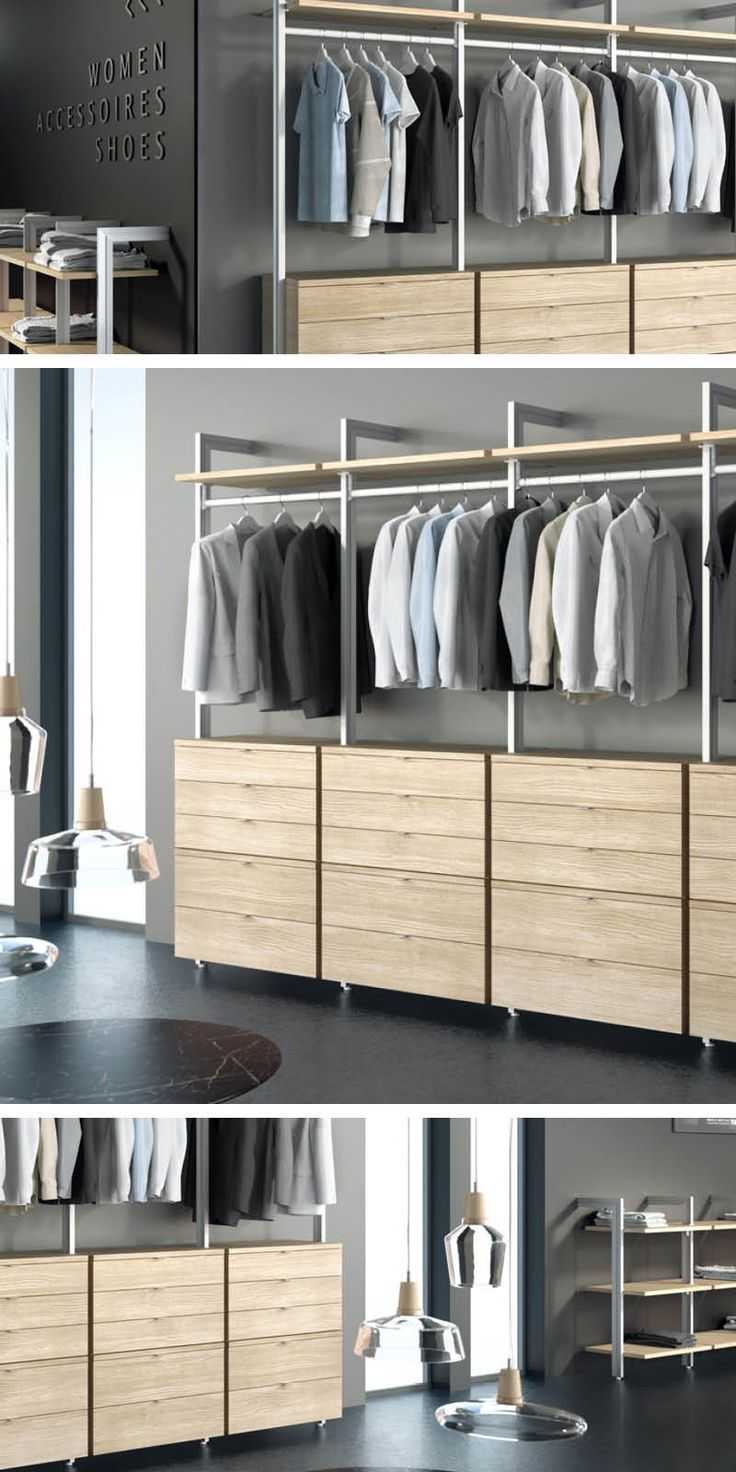 best 25 wardrobe rail ideas on pinterest built in. Black Bedroom Furniture Sets. Home Design Ideas