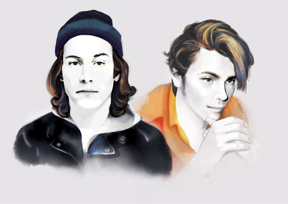 River Phoenix & Keanu Reeves - My Own Private Idaho Series