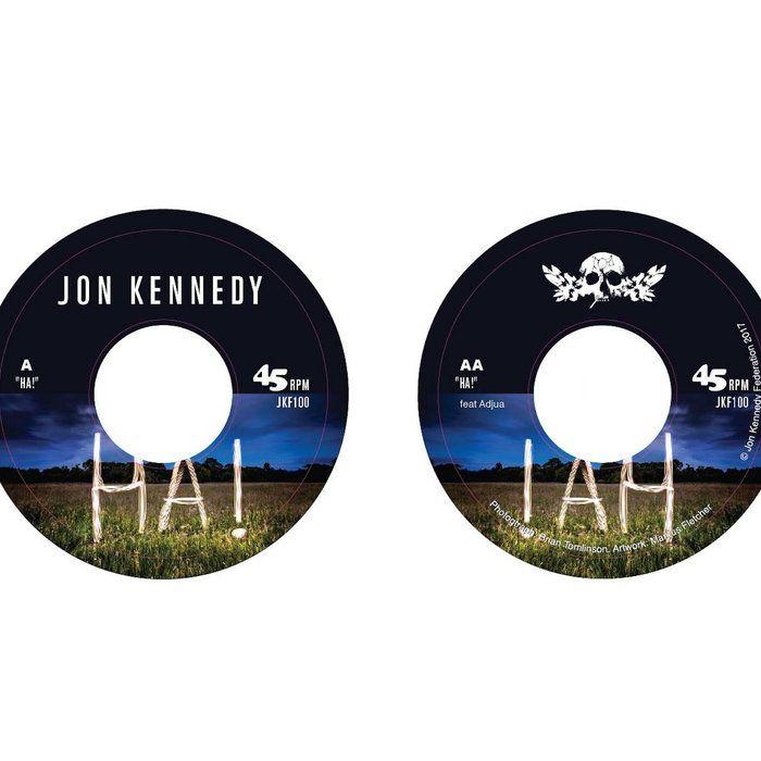 "Grab your exclusive copy of ""HA!"" 7"" VINYL (limited to 500 copies)  https://jonkennedy.bandcamp.com/album/ha-7-inch-vinyl"