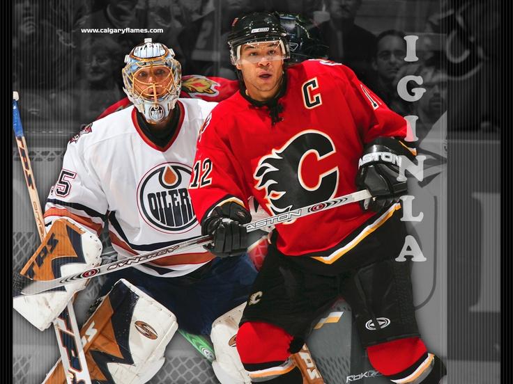 Calgary Flames Game .. Jerome Iginla