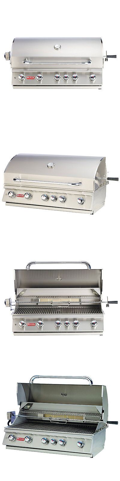 Barbecues Grills and Smokers 151621: Bull Outdoor Products 5 Burner 90,000 Btus Brahma Natural Gas Outdoor Grill Head -> BUY IT NOW ONLY: $2076.99 on eBay!