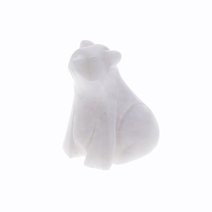 Marble polar bear ornament | Stocking fillers for adults | Natural History Museum Online Shop