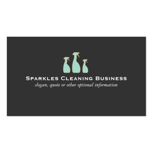 273 best cleaning business cards images on pinterest for Commercial cleaning services business cards