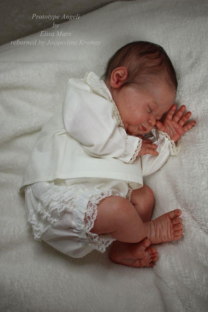 Prototype Angeli By Elisa Marx Reborn Babies Dolls