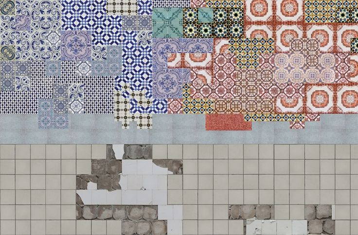 Tell me tiles - GPW1224 by wall and deco. Wallpaper!