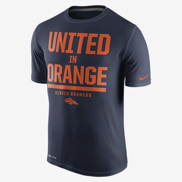 Nike Local Legend Verbiage (NFL Broncos) Men's Training Shirt