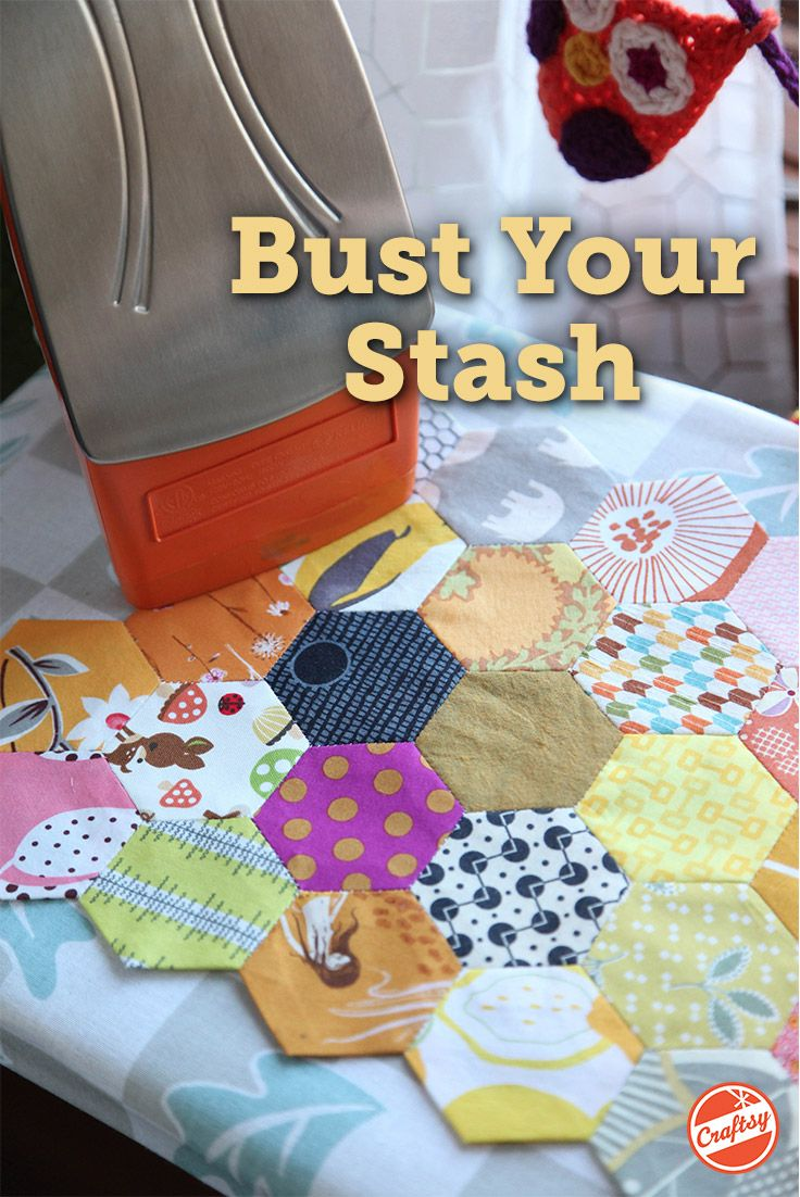 Download this free guide and bust your scraps like never before! You'll receive 21 pages of tips, tricks and tutorials from expert quilters to help turn your scraps into timeless, quilted treasures.