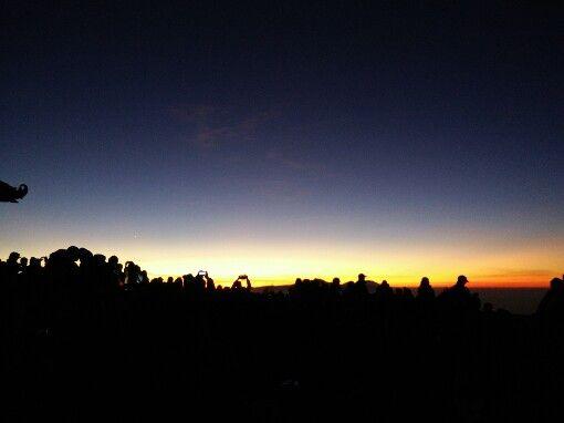 Sunrise of first September, mount bromo, indonesia #iloveindonesia #beautifulindonesia