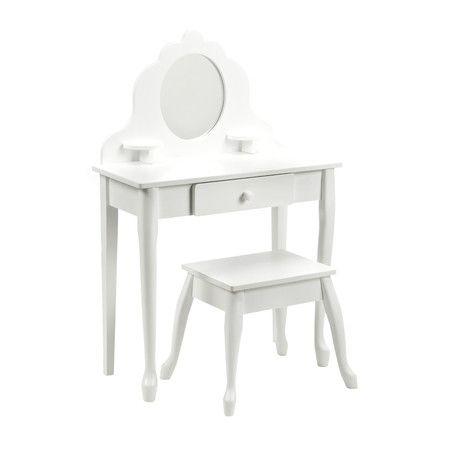 Found it at Wayfair - Diva Vanity Set with Mirror in White http://www.wayfair.com/daily-sales/p/Gifts-for-Kids-Diva-Vanity-Set-with-Mirror-in-White~KK1049~E14401.html?refid=SBP.ERkQrIgWSlAxzNZbAvS1IoUsgaBgVEK9ozP8CdVGk_M