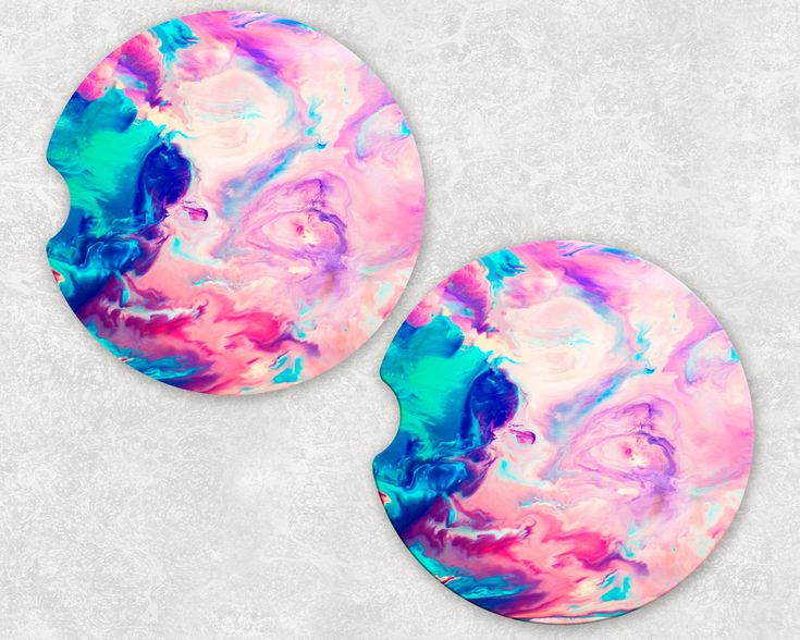 Custom Sandstone Colorful Marble Auto Car Coasters (set of2), Absorbent Sandstone Personalized Car Coasters (set of2) Gift Ideas by JusBcauseGifts on Etsy https://www.etsy.com/listing/550492762/custom-sandstone-colorful-marble-auto