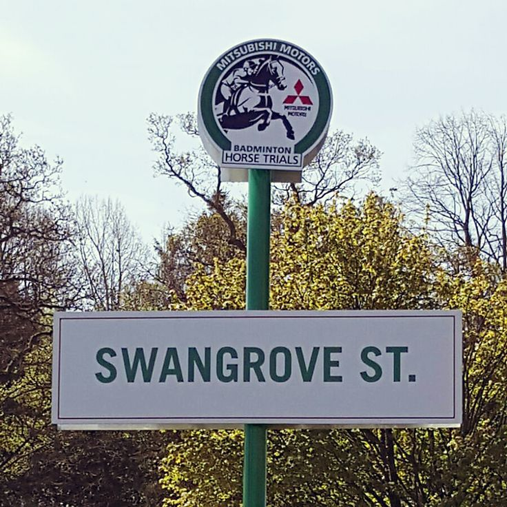 We're on Swangrove Street at Badminton Horse Trials 2016, stroll down and say hello! #MMBHT