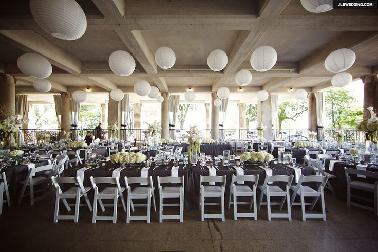 our wedding venue the veranda at the whitcomb st joseph mi flowers linens by modern day floral grand rapids mi photo by jlb photography