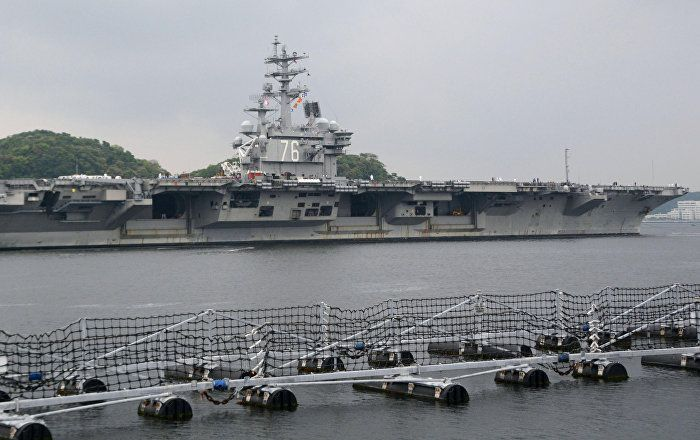 The entire USS Ronald Reagan strike group, which includes four destroyers and two submarines, will be participating in exercises alongside South Korean ships in late October. The Pentagon claims that the exercises have been in the works for a long time, and are not a response to current tensions with Pyongyang. Then on Saturday, a pair of US B-1B Lancer strategic bombers flew within miles of the North Korean border. North Korea did not issue an official response to the mission.